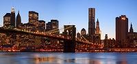 アメリカ合衆国 ニューヨーク ブルックリン橋