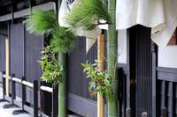 京都府 京町家の正月飾り
