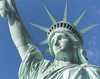 アメリカ合衆国 リバティー島自由の女神