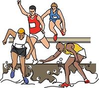 陸上競技 3000メートル障害