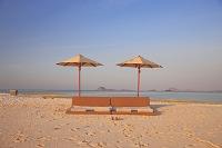 インドネシア 夕焼けの浜
