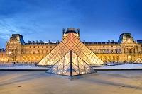 フランス パリ ルーヴル美術館  外観