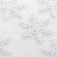 雪の結晶のクラフト