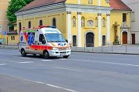 ハンガリー ブダペスト 救急車
