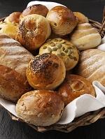 いろいろなロールパン