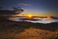 北海道 美幌峠と屈斜路湖の日の出