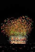 新潟県 夜景と長岡まつり大花火大会 花火「この空の花」