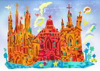 世界遺産アート リトアニア ビリニュスの歴史地区