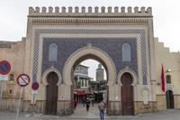 フェズ ブージュルード門