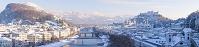 オーストリア 冬の街並み
