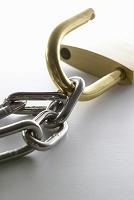 南京錠と鎖