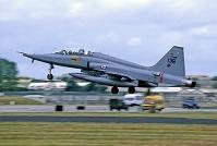 ノルウェー空軍F-5タイガー戦闘機