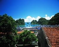 ベトナム ホンガイの町とハロン湾