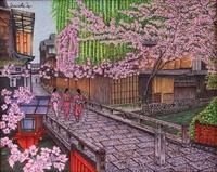 祇園白川の春
