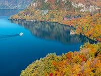 青森県 十和田湖・紅葉 瞰湖台展望台