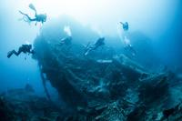 エジプト 紅海の海中風景 沈船