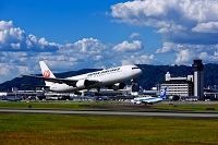 大阪府 伊丹空港 ボーイング767
