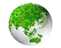 葉っぱの地球