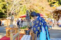 茨城県 白旗山八幡宮 イイミミキケ神事