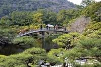 高松 栗林公園庭園の風景