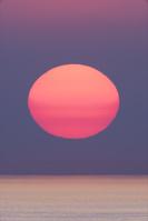 京都府 日本海の夕日