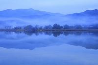 京都府 霧の広沢の池