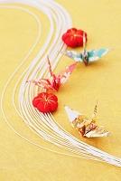 水引と折り鶴