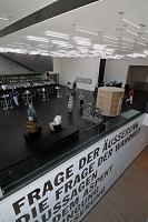 ドイツ シュトゥットガルト 市立美術館 館内のカフェ