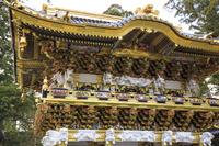 栃木県 日光東照宮 修復完成後の陽明門(17年3月)