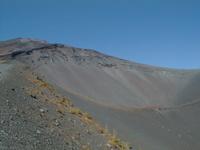 富士山 宝永火口周辺