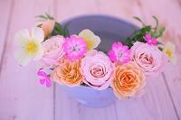 バラと草花 フラワーアレンジメント