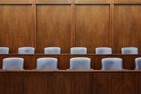 裁判所の陪審員席