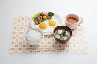 朝食イメージ 目玉焼き