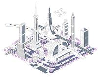 ブロックタウン未来都市 B-2-3-5-6