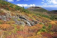 福島県 吾妻小富士と一切経山の紅葉