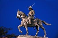 宮城県 伊達政宗公騎馬像