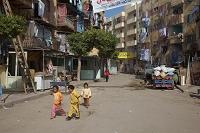 アレキサンドリア エジプト スラム街