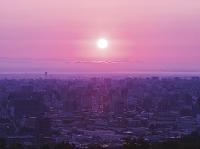 北海道 札幌市街地の朝