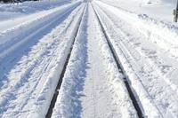長野県 白銀の鉄路