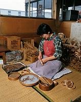 曲げわっぱ作り(かばぬい) 秋田県 大館市