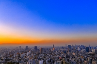 東京都 夕焼け