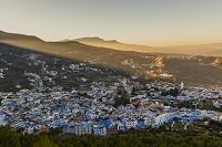 モロッコ シャウエンの街並み