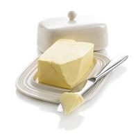 バターケースとバターナイフ