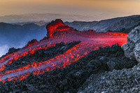 イタリア エトナ山