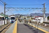 富士急行 富士山駅 フジサン特急 山梨県富士吉田市