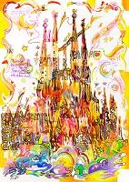 世界遺産アート スペイン サグラダ・ファミリア