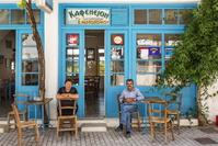 ギリシャ クレタ島のレストラン