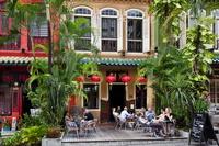 シンガポール オーチャード通りのレストラン