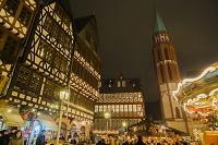 ドイツ フランクフルト レーマー広場 クリスマスマーケットと...