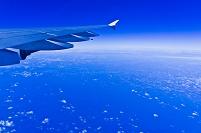 機中より雲 フランクフルト~バルセロナ LH-1132
